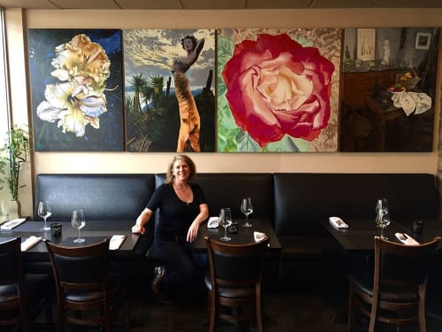 Art Curation by ABC Fine Art seen at The Truffle House & Cafe, West Vancouver - Art Curation