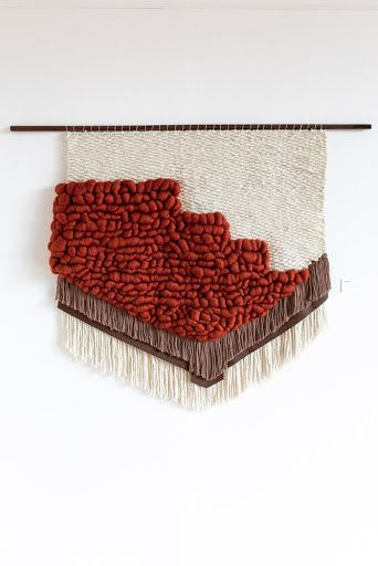 Wall Hangings by Keyaiira   leather + fiber seen at Private Residence - Patina