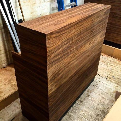 Furniture by Luke Malaney Furniture at Krav Maga Experts - Upper West Side, New York - Reception Desk