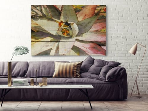 Paintings by Irena Orlov seen at Creator's Studio, Los Angeles - Succulent Melody