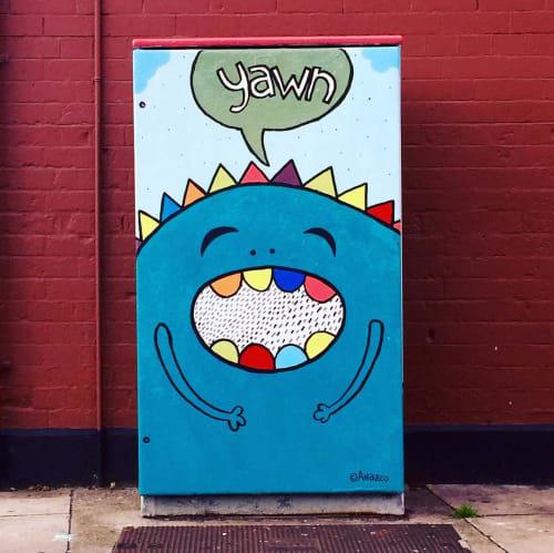 Street Murals by Carlos Añazco seen at King Street North, Dublin - Good Morning Dublin