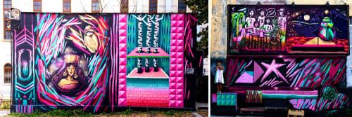 MishkaTheMouse - Art and Street Murals