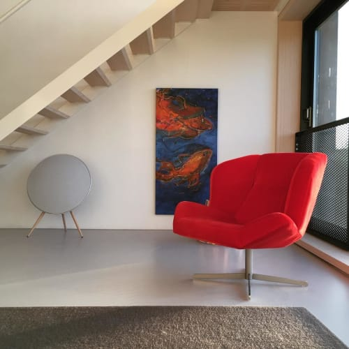 Chairs by Studio Josha seen at Private Residence, Amsterdam - LC01 Lounge Chair