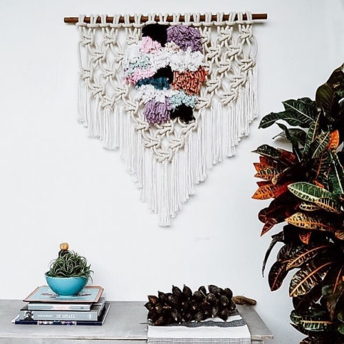 Macrame Wall Hanging by Ranran Design by Belen Senra seen at Private Residence, Bondi Beach - Macrame Wall Hanging