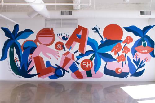 Lance Flores Studios - Street Murals and Murals