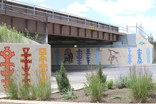 Street Murals by Tony Passero seen at 3169 North Kedzie Boulevard, Chicago, IL, Chicago - Ramzelle