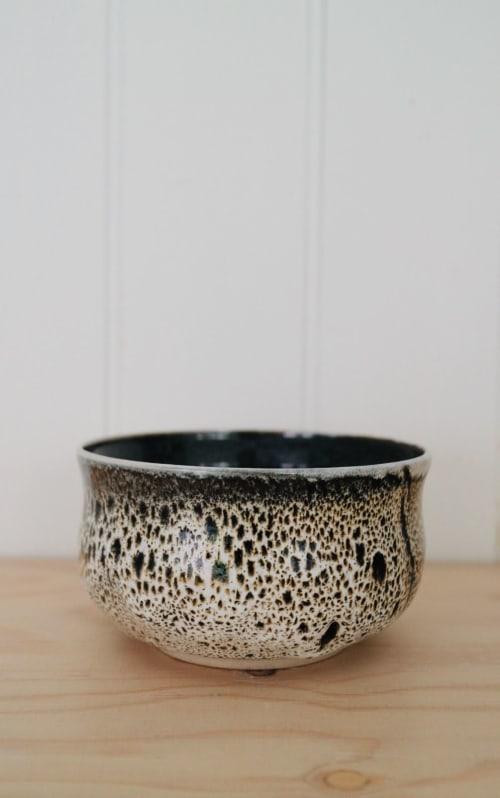 Tableware by Noriko Nagaoka seen at Private Residence, London - Croco Matcha bowl/Cereal bowl / Soup bowl