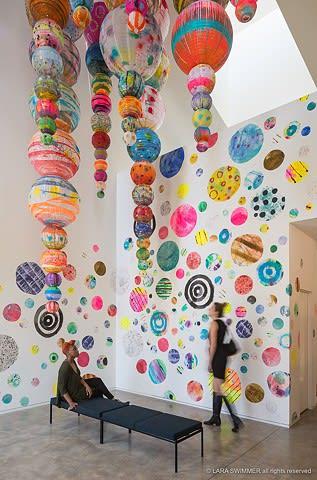 Art & Wall Decor by Liz Tran at JW Architects, Seattle - Cumulus