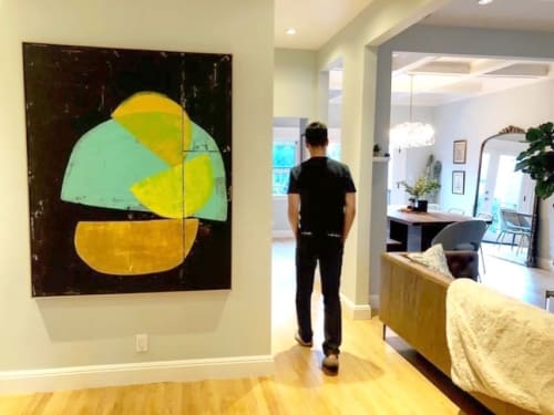 Paintings by Laura Dargan seen at Private Residence - Align