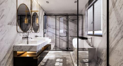 Interior Design by Studio Hiyaku seen at Private Residence, Carlingford - Carlingford House