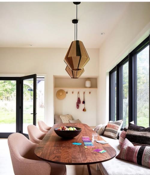 Lamps by Werajane Design seen at Private Residence, New York - Custom Lamps