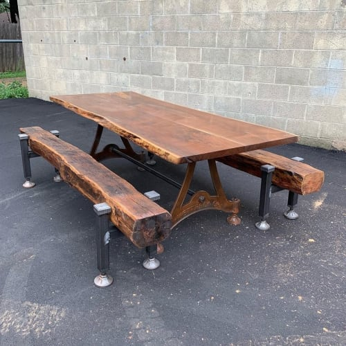 Wettrock Co. - Tables and Benches & Ottomans
