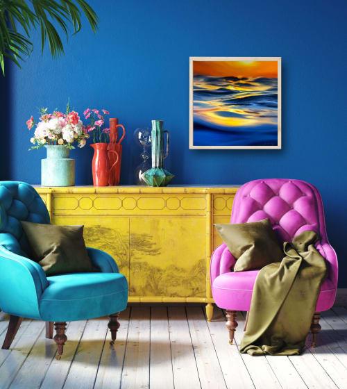 "Paintings by Fran Halpin Art seen at Creator's Studio, Dublin - ""Escape"" Print"