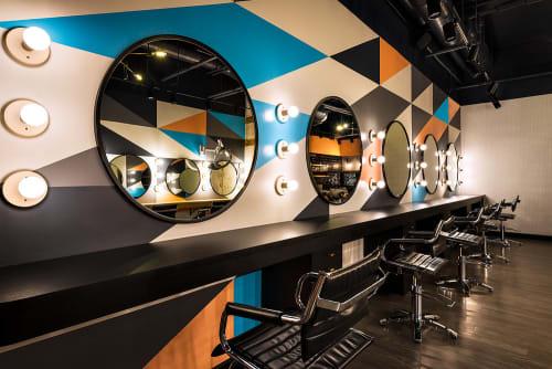 Interior Design by blocHaus at BOSS HAIR GROUP, Chicago - Interior Design