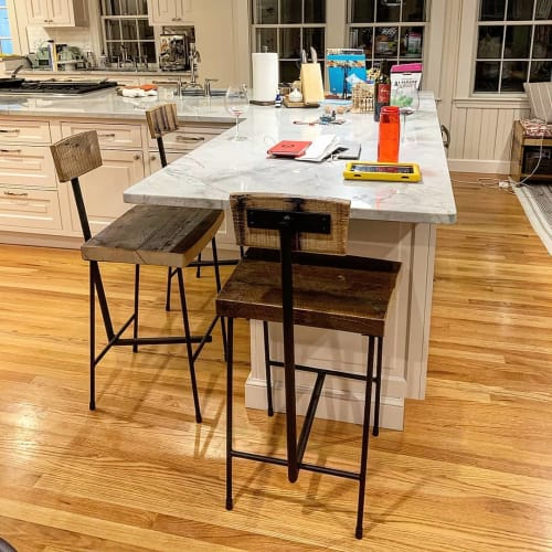 Chairs by Ryan Messier Fine Furniture seen at Private Residence, Lincoln - Kitchen Chair