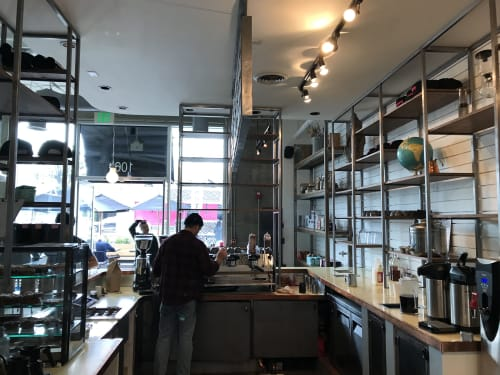 Interior Design by Meisch Made seen at 801 N Fairfax Ave, Los Angeles - Coffee Commissary