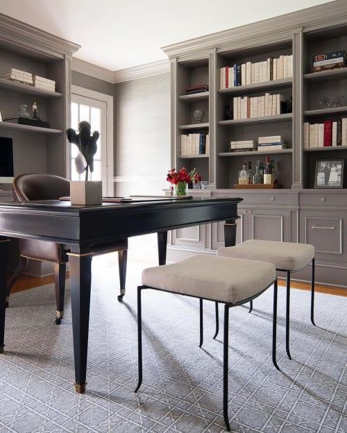 Tables by The Philadelphia Woodworking Co. seen at SHOPHOUSE, Philadelphia - Custom desk