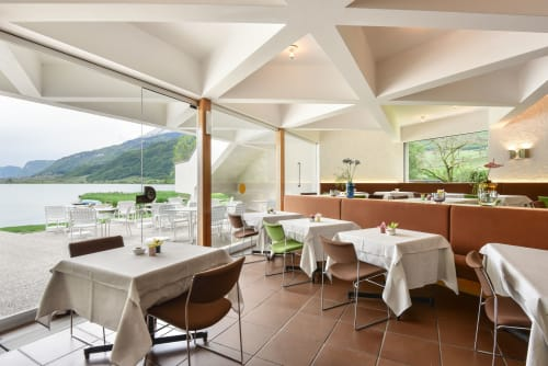 Chairs by Gervasoni seen at Seehotel Ambach, Campi Al Lago - Chairs