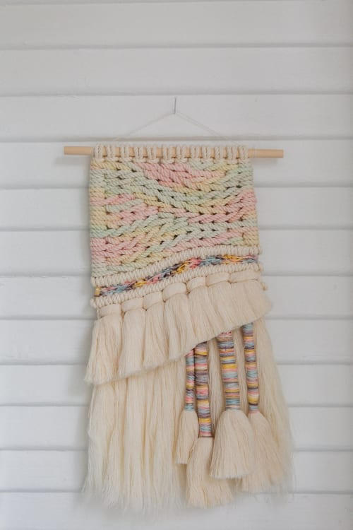 Macrame Wall Hanging by Demi Macrame & Designs - Dinner Mint Macrame Weave