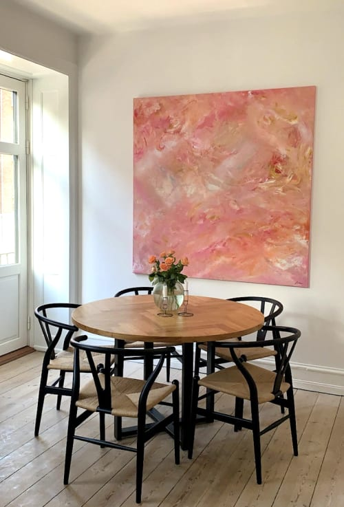 Paintings by Sophie Pollock Art seen at Private Residence, Copenhagen - Take me to heaven