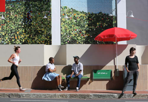 Architecture by Liza Grobler seen at Nando's Gardens, Cape Town - #WDC522