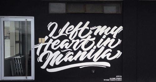 "Murals by KFK Collective seen at Hometown Hotel Makati - EDSA, Makati - ""I Left my Heart in Manila"""