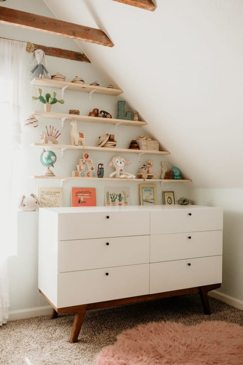Furniture by Pottery Barn seen at Terra LaRock's Home - West Elm x PBK Modern 6-Drawer Changing Table