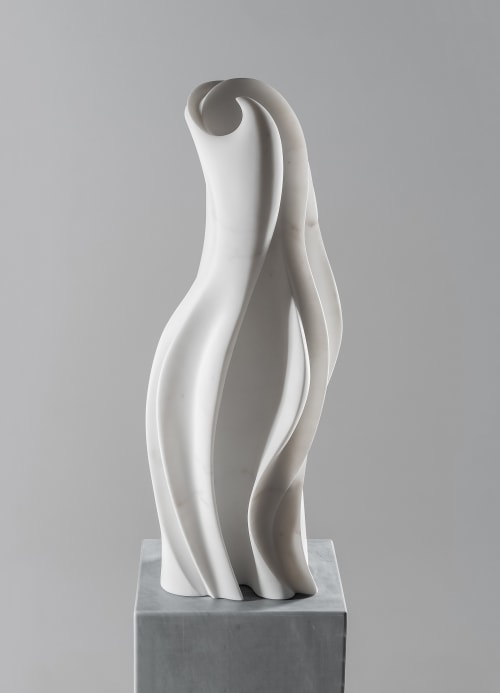 Sculptures by Yoko Kubrick seen at DZINE, San Francisco - Thalassa