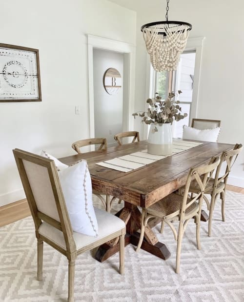 """Wall Hangings by Ava Berry Lane seen at Private Residence, Franklin - 24"""" Everett Round Custom Wall Decor"""