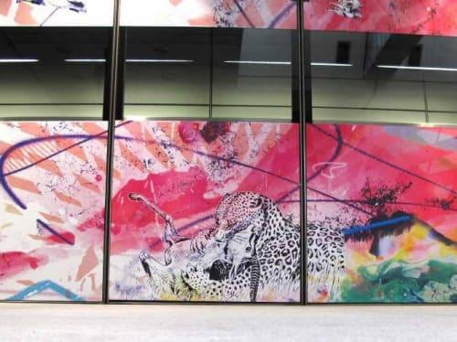 Street Murals by Frederik Hesseldahl - The Art of Clean seen at Fasanvej St. (Metro), Frederiksberg - Art underground #2