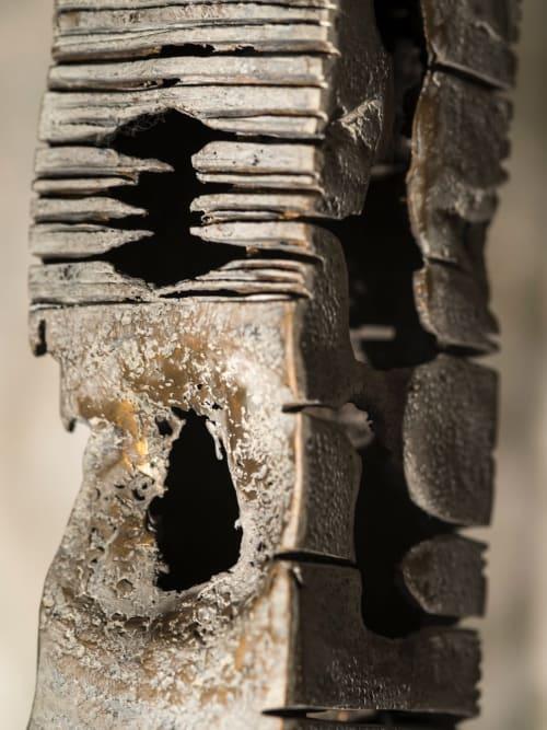 Sculptures by Danette Landry seen at AERENA Galleries & Gardens, Yountville - Albatros