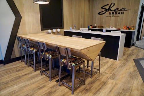 Tables by Carolina Urban Lumber seen at Shea Urban, Charlotte - White Oak Table