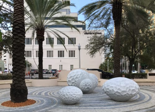 Public Sculptures by Atelier Sibylle Pasche seen at Coral Forest (Sibylle Pasche), Coral Gables - Coral Forest (2018)