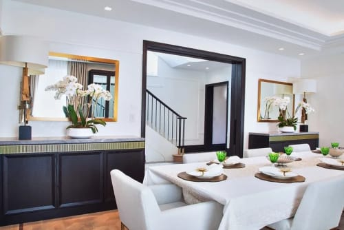 Furniture by Select NYC Millwork seen at Private Residence, New York - Dining Room Millwork