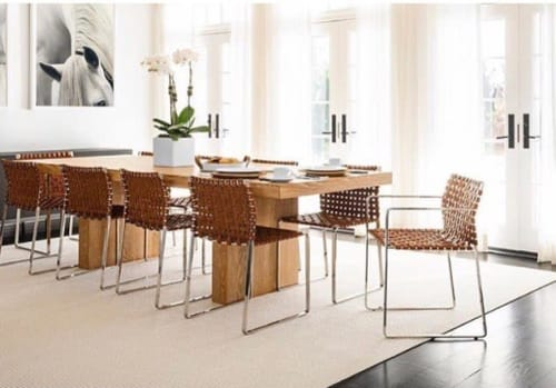 Chairs by Mark Albrecht Studio seen at Private Residence, New York - Side Chairs and Arm Chairs