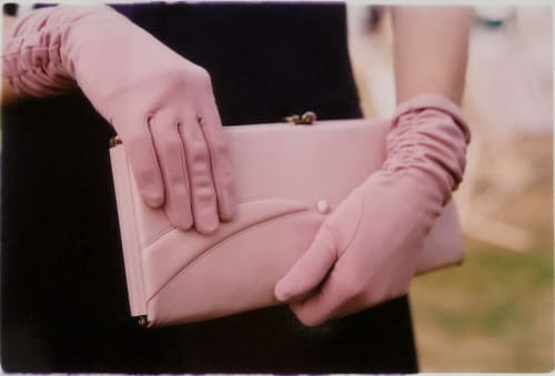 Photography by Richard Heeps seen at Hotel nhow Milano, Milano - Pink Gloves, Goodwood, Chichester, 2009
