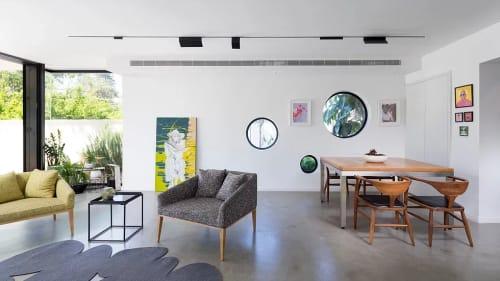 Rugs by Tamar Nix seen at Private Residence, Ramat Gan - Stones rug - grey