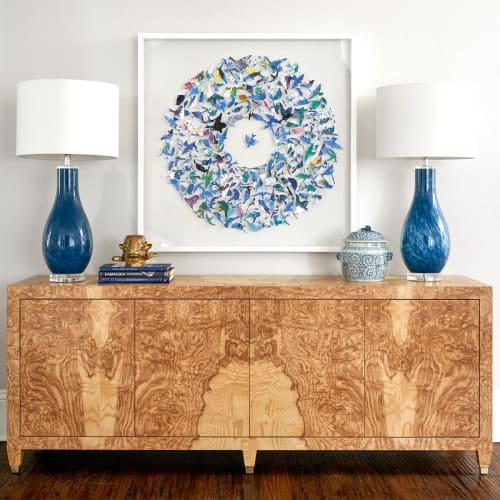 Furniture by Scout Design Studio seen at Private Residence, Dallas - Mallory Credenza