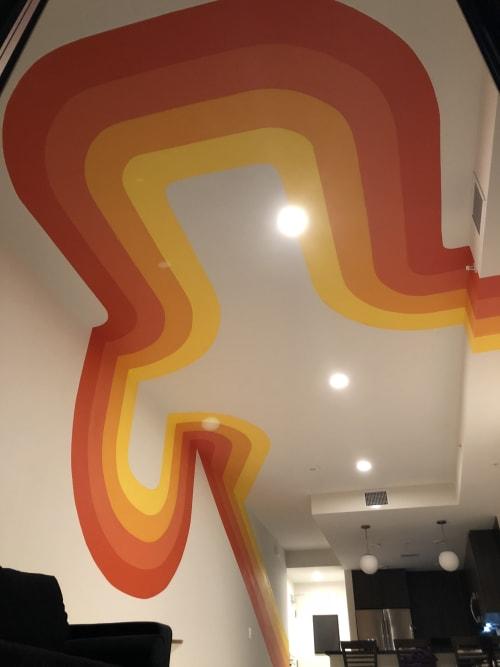 Sound Waves   Murals by Nicki Deux