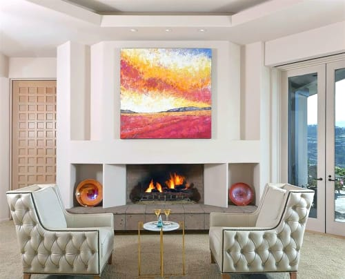 Paintings by Alison Haley Paul seen at Private Residence - Ambrosia