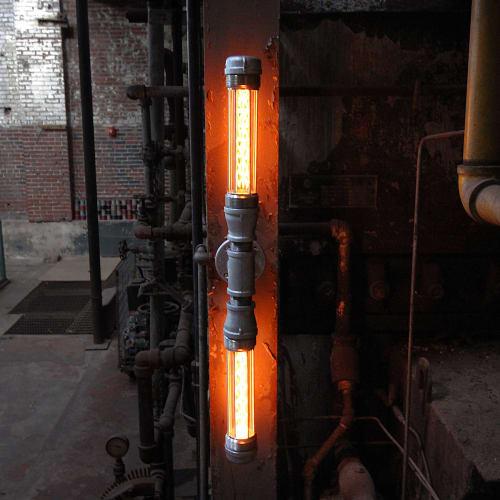 Sconces by Pandemic Design Studio seen at Philadelphia, Philadelphia - The Double Glow Worm