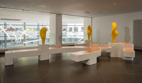 Furniture by STUDIO NICK ERVINCK seen at AZ Damian, Oostende - Yaropra