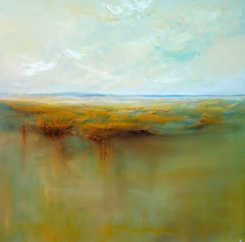 """Paintings by Paul Ryan seen at Private Residence, Dublin - """"The Landscape is Changing"""""""