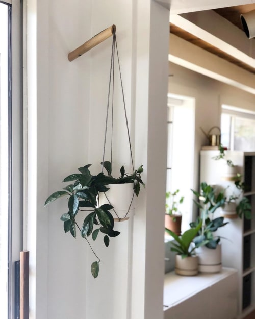 Vases & Vessels by Planters by Eli seen at Work Hard Plant Hard, Encinitas - Hanging Planter