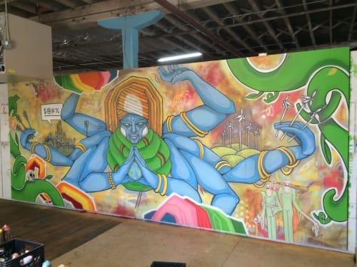 Murals by Erwin Erkfitz seen at HopCat, Louisville - Vision of Compromise Reboot