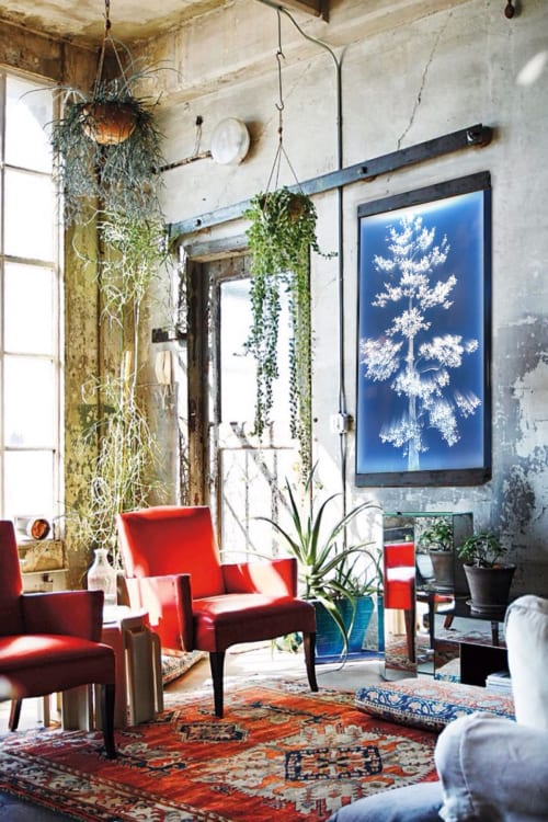 Art & Wall Decor by Tatyana Murray / Tatyana INC seen at Private Residence, Mougins - TREE OF LIGHT/ LIFE