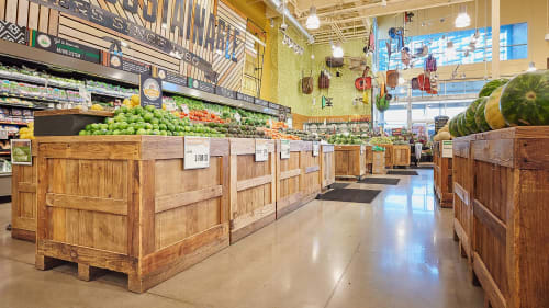 Furniture by HEWN seen at Whole Foods Market, Austin - Custom Architectural Woodwork