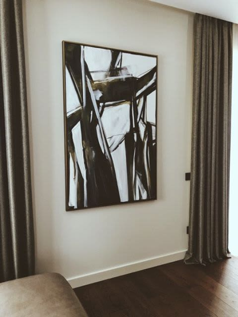 Art Curation by Egle's Paintings seen at Private Residence, Vilnius - Private Home