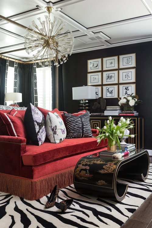 Interior Design by Kelly-Moore Paint seen at Private, Residence, Houston, Houston - Veronica Solomon One Room Challenge