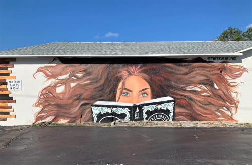 Melanie Posner - Murals and Street Murals